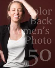 外国人女性50ポーズ
